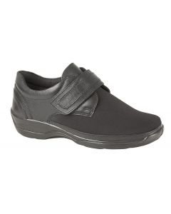 X Wide Touch Fastening Stretch Comfort Shoe