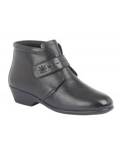Touch Fastening Ankle Boot