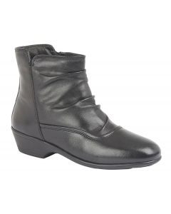 Inside Zip Quilted Shaft Ankle Boot