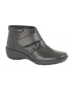 X Wide Touch Fastening Ankle Boot