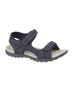 Ladies Twin Touch Fastening Sandal