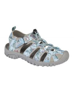 Toggle/Touch Fastening Floral Print Sports Sandal