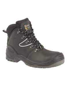 Leather Safety Hiker Type Boot