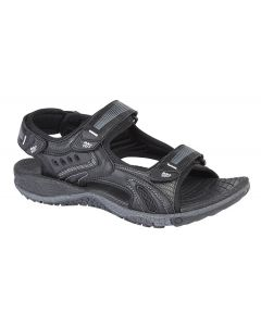 3 Touch Fastening Synthetic Nubuck Sports Sandal