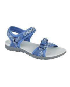 Ladies Twin Touch Fastening Adjustable Sandal