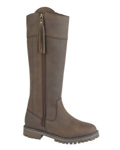 Bailey Outer Side Zip Slim Fitting Country Boot