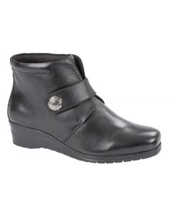 Touch Fastening Centre Seam Ankle Boot