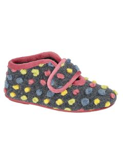 Carrie Touch Fastening Bootee Slipper