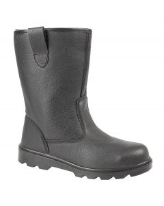 Leather Safety Rigger Boot
