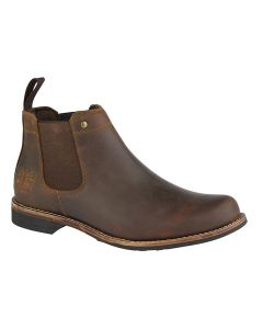 Leather Gusset Chelsea Boot