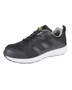 Nylon Mesh Safety Trainer Shoes