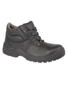 Padded Collar D-Ring Safety Chukka Boot