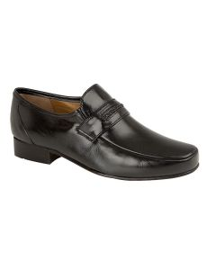 Interlace Trim Concealed Gusset Casual Shoe