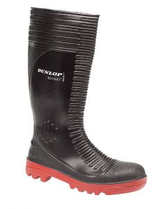 Acifort Ribbed Full Safety Wellington Boot